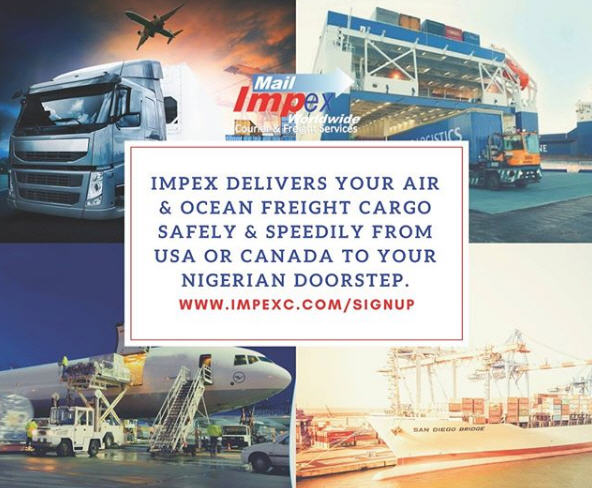 Impex delivers your Air & Ocean Freight cargo